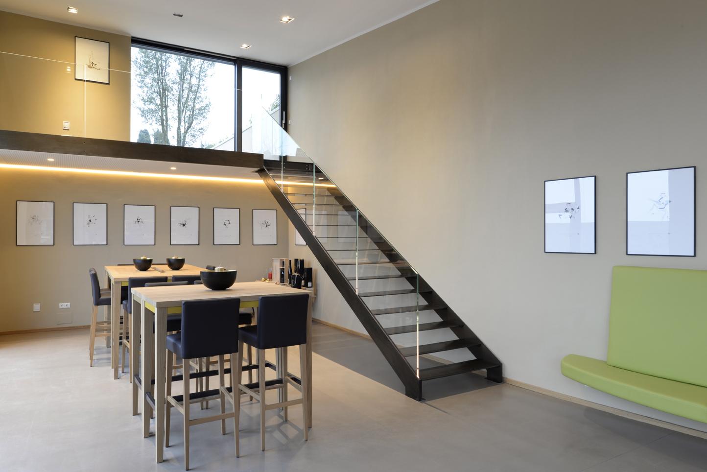 Scala design Interbau, tenuta Lentsch, Bolzano (Italia)