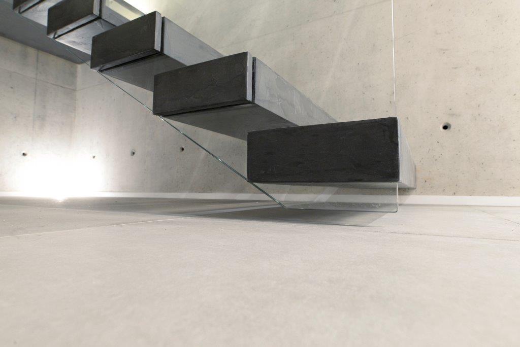 Un opera di alto design - Gradini in cemento per esterno ...
