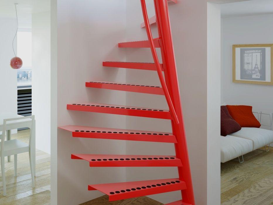 Saving space stair 1m2