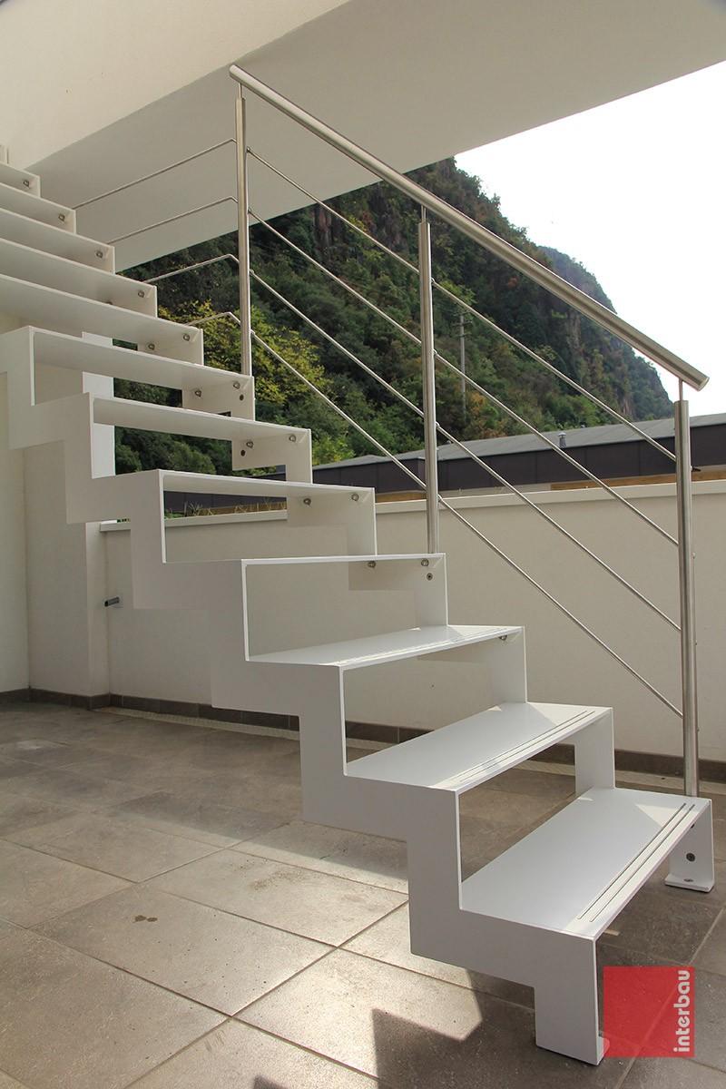Scale da esterno in metallo interbau style design - Scale da esterno in muratura ...