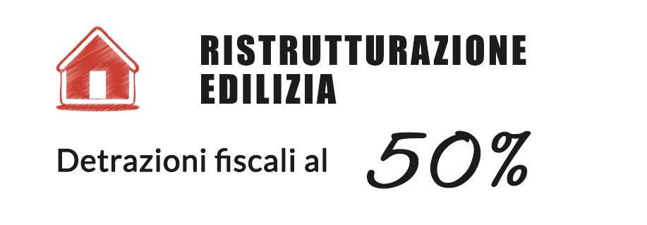 Detrazioni fiscali 50%